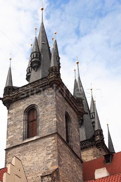 Готский архитектура классический красный Сток-фото © cosma