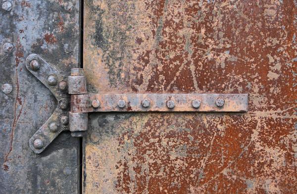 Rusry Metal Door Stock photo © cosma