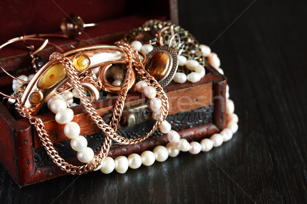 Jewelry Box Stock photo © cosma