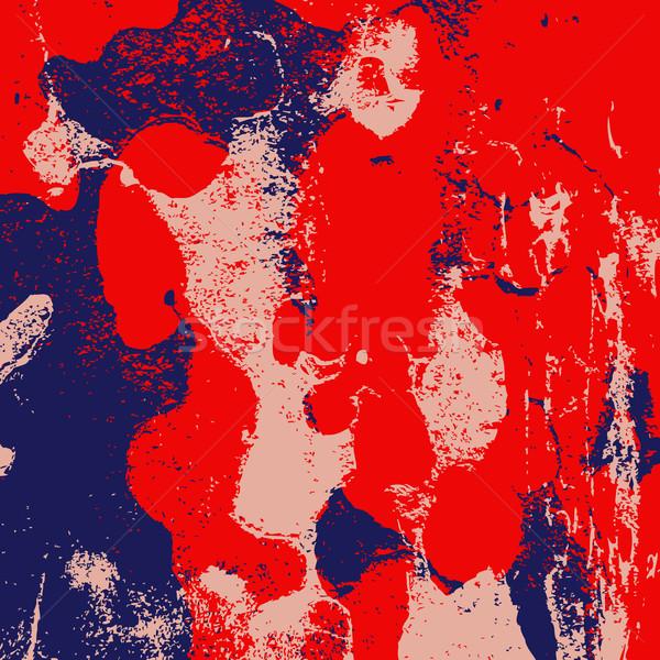 Grunge retro klasszikus festett papír textúra színes Stock fotó © cosveta