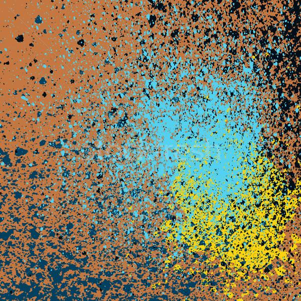Pintura en aerosol patrón vector grunge creativa mano Foto stock © cosveta