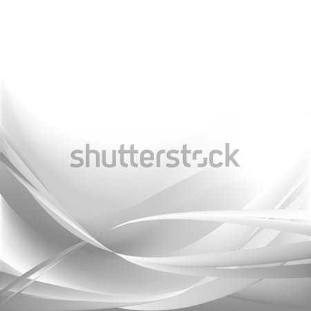 Gris résumé vagues isolé texture fumée Photo stock © cosveta