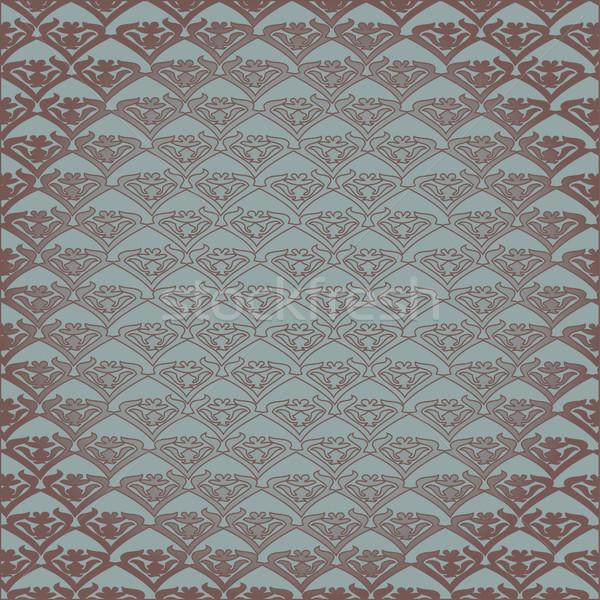 вектора Vintage цветочный шаблон бесшовный пастельный Сток-фото © cosveta