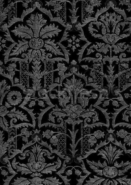 Abstract hand-drawn floral pattern, vintage background Stock photo © cosveta
