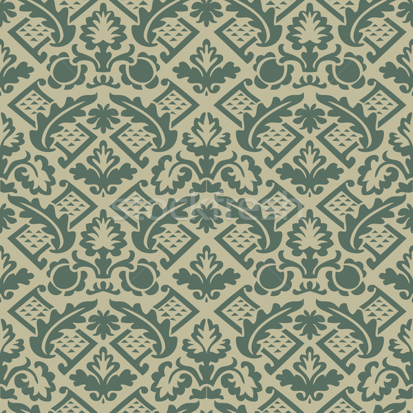 Vector colorful damask seamless floral pattern background Stock photo © cosveta