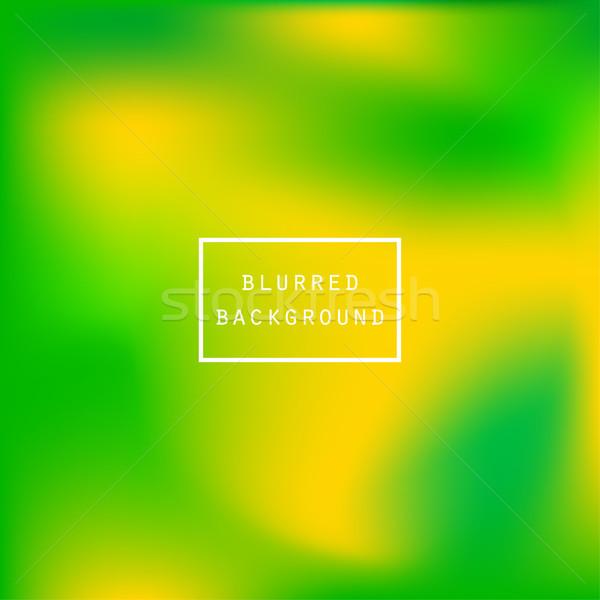 明るい カラフル 現代 ジューシー 緑 黄色 ストックフォト © cosveta