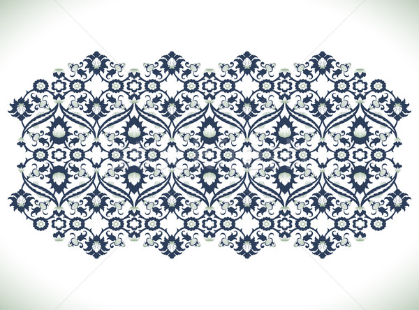 Vintage adamaszek kwiatowy dekoracji koronki wydruku Zdjęcia stock © cosveta