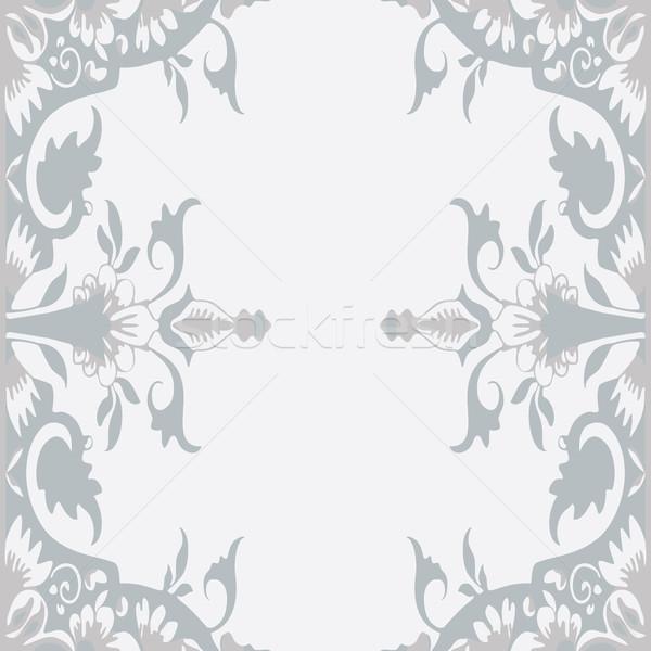Vector Ornamental Floral Frame Stock photo © cosveta