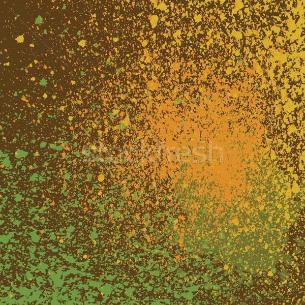 Festékszóró minta vektor grunge kreatív kéz Stock fotó © cosveta