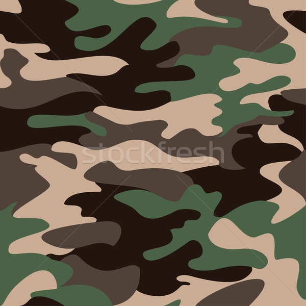 Camouflage pattern background seamless clothing print, repeatabl Stock photo © cosveta