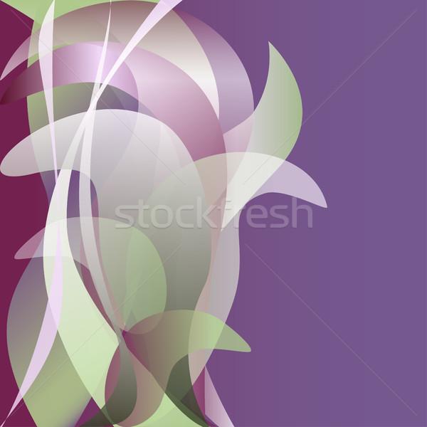 красочный цветок изолированный аннотация свет весны Сток-фото © cosveta