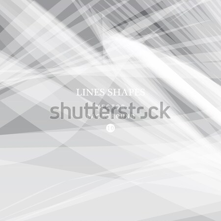 Modern technology striped abstract background with copy space ve Stock photo © cosveta