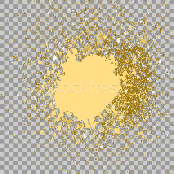 Illustration of confetti explosion effect isolated on transparen Stock photo © cosveta