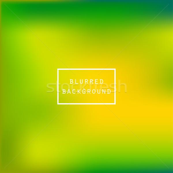 Brilhante colorido moderno suculento verde amarelo Foto stock © cosveta