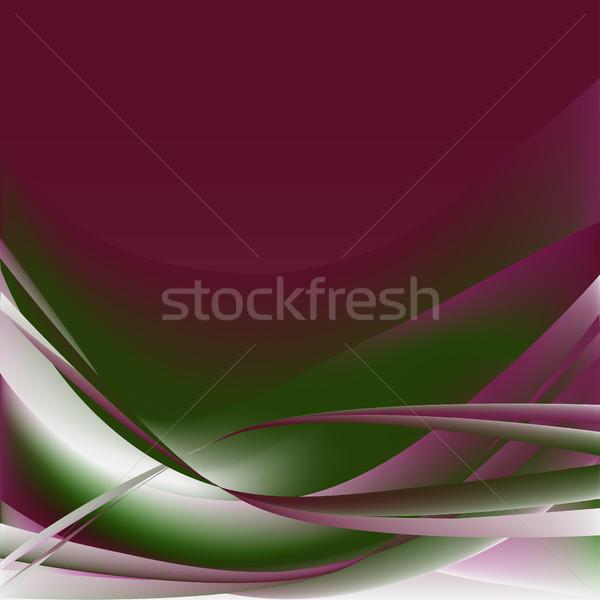 Photo stock: Coloré · vagues · isolé · résumé · lumineuses · texture
