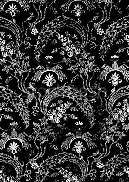 Resumen floral vintage patrón pueden Foto stock © cosveta