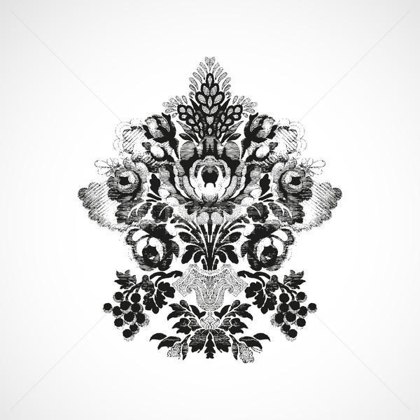 Decorado buquê flores vaso Foto stock © cosveta