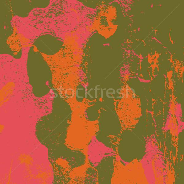 Grunge Retro bağbozumu boyalı kağıt dokusu renkli Stok fotoğraf © cosveta