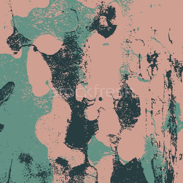 Grunge retro vintage malowany tekstury papieru kolorowy Zdjęcia stock © cosveta