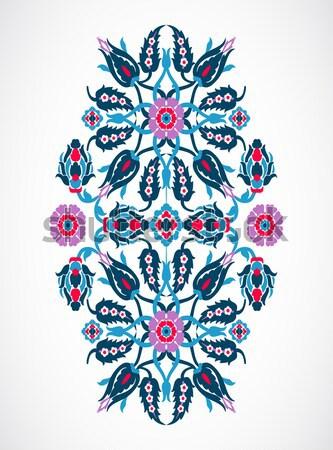 Arabesque vintage element elegant floral decoration print for de Stock photo © cosveta