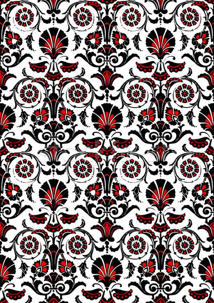 Sem costura abstrato floral padrão vintage Foto stock © cosveta