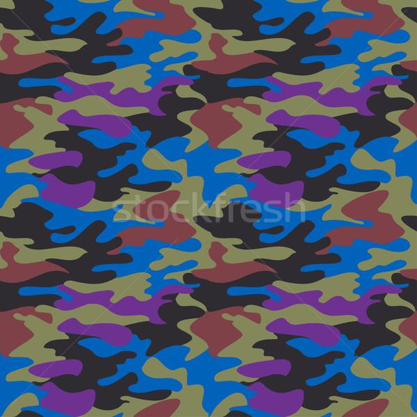 álca minta végtelenített ruházat nyomtatott megismételhető Stock fotó © cosveta
