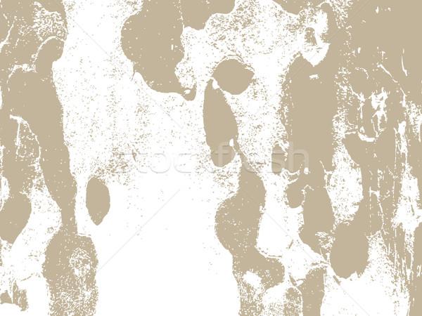 Schors textuur beige kleuren interieur Stockfoto © cosveta