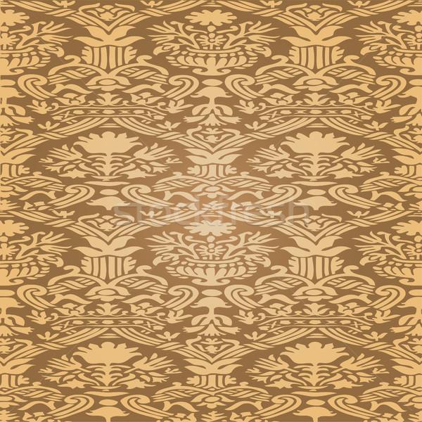 Stok fotoğraf: Altın · soyut · model · bağbozumu