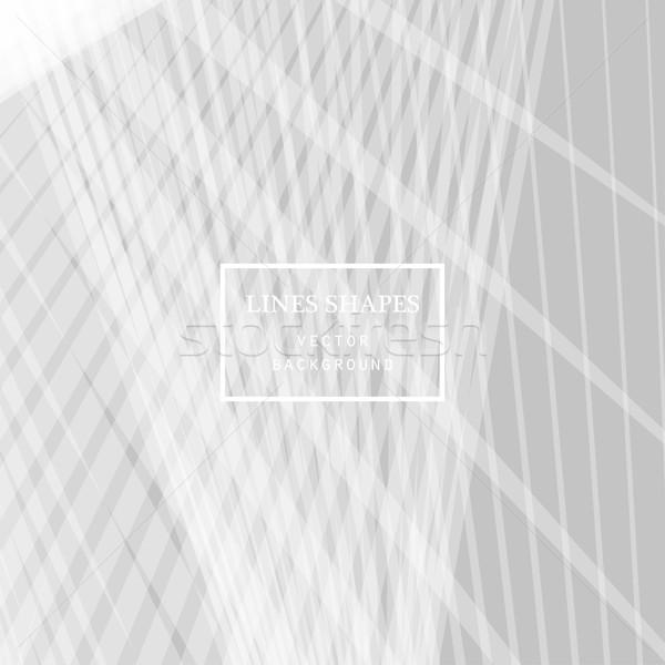 современных технологий полосатый аннотация вектора серый Сток-фото © cosveta