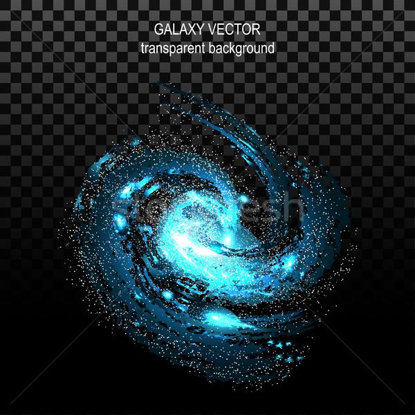 Foto stock: Imagem · galáxias · efeito · túnel · spiralis · galáxia