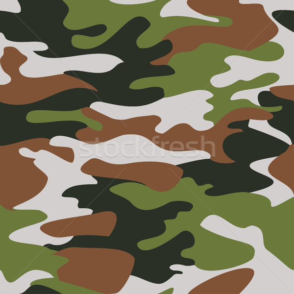 Camouflage pattern background seamless vector Stock photo © cosveta