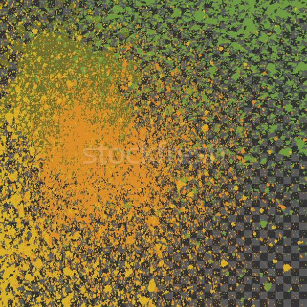éclaboussures peinture néon décoration acrylique Photo stock © cosveta