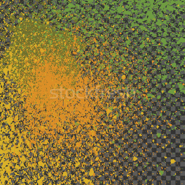 Splatter verf neon decoratie acryl Stockfoto © cosveta