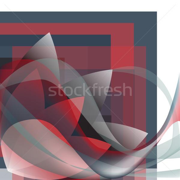 Foto stock: Esquina · patrón · olas · flor · geométrico · colorido