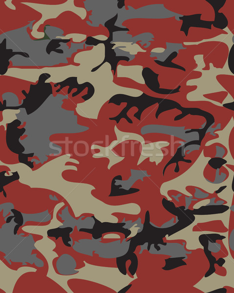 Camouflage pattern background seamless vector illustration. Clas Stock photo © cosveta
