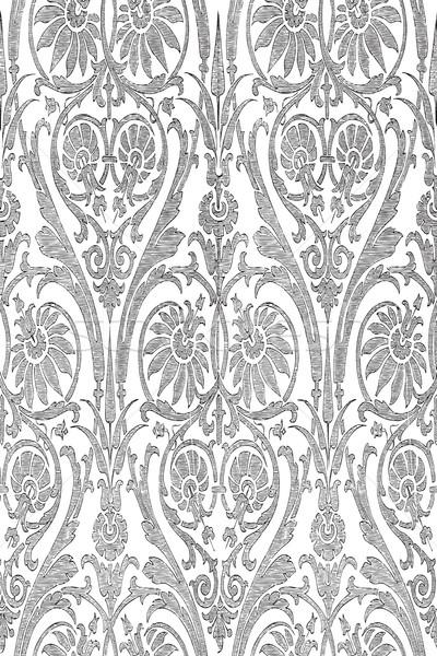 Fara sudura in dungi damasc vector Imagine de stoc © cosveta