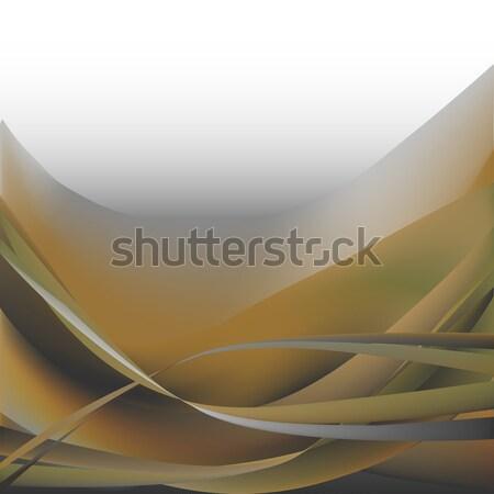 Stok fotoğraf: Renkli · dalgalar · yalıtılmış · soyut · gri · askeri