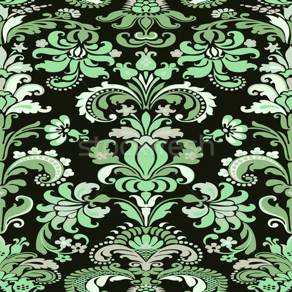 Wallpaper floral sin costura azulejo sitio web Foto stock © cosveta