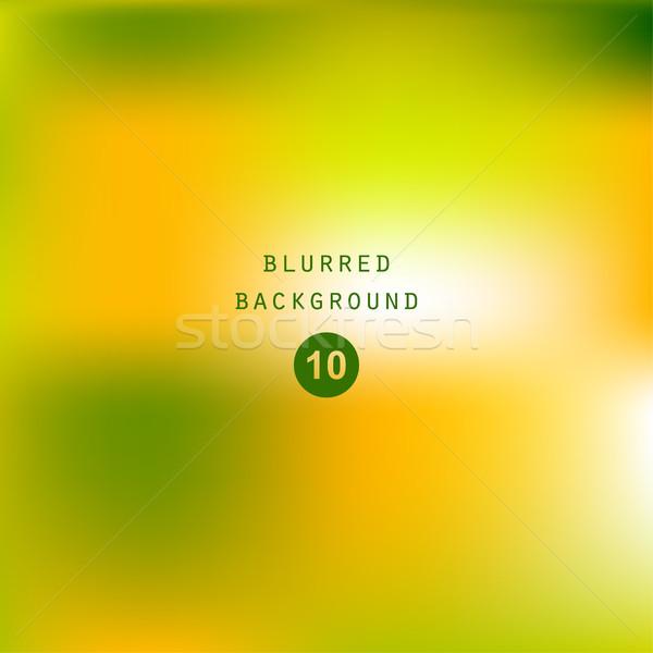 Lumineuses coloré modernes juteuse vert jaune Photo stock © cosveta