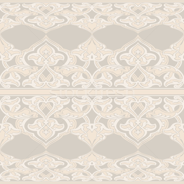 Vector ornate seamless floral pattern in Eastern style Stock photo © cosveta