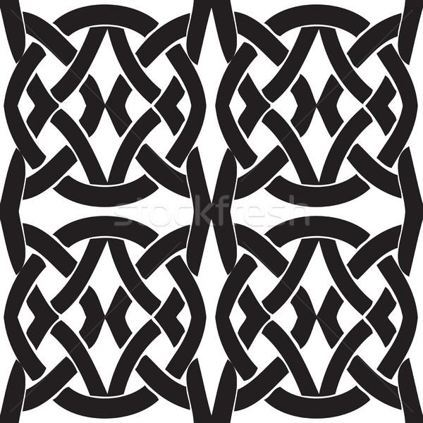 Seamless vintage pattern from Byzantine Stock photo © cosveta