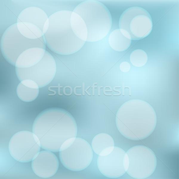 Foto stock: Brillante · colorido · moderna · jugoso · azul · luz