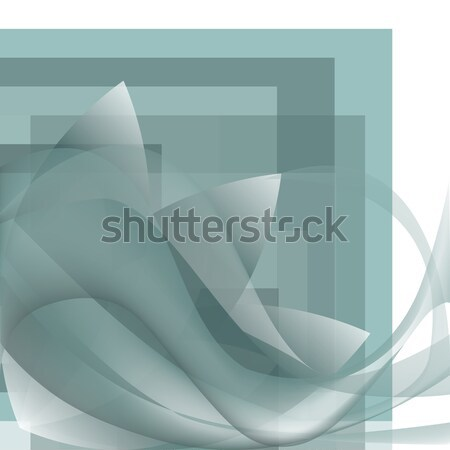 Abstrato flor ondas praça gradiente pastel Foto stock © cosveta