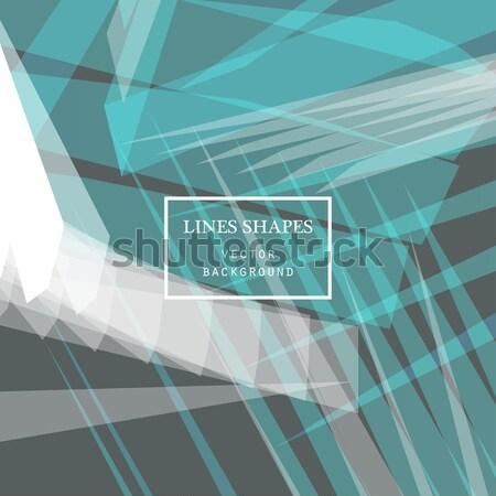 Moderno tecnologia listrado abstrato cópia espaço vetor Foto stock © cosveta