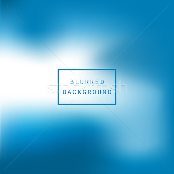 Bright colorful modern smooth juicy blue white gradient color ab Stock photo © cosveta