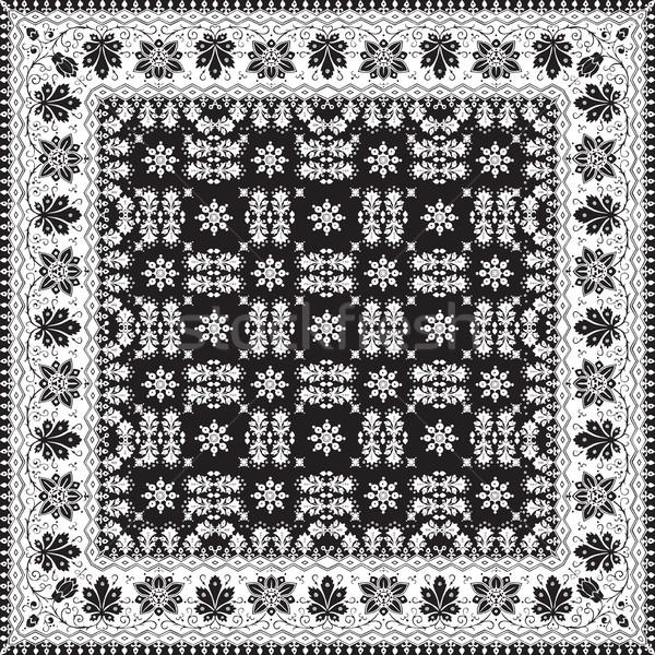 Abstract etnica floreale pattern design vettore Foto d'archivio © cosveta