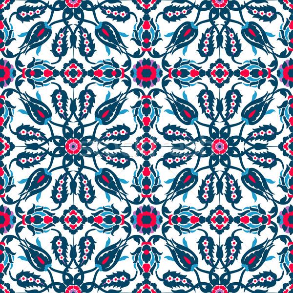 Arabesque vintage decor ornate seamless for design template vect Stock photo © cosveta