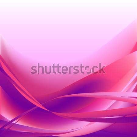 Colorido ondas isolado abstrato rosa água Foto stock © cosveta