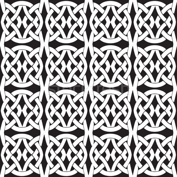 Seamless vintage pattern from Byzantine Stock photo © cosveta