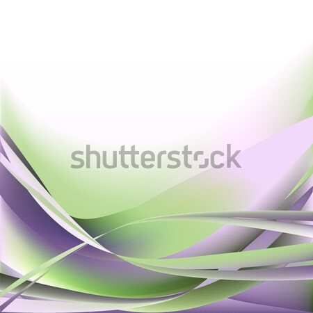 Colorful waves isolated abstract background light  Stock photo © cosveta